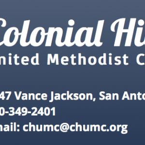 Colonial Hills United Methodist School - Saturday Night Out
