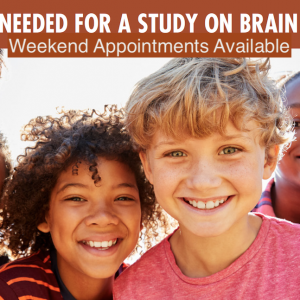 Healthy Kids Needed for a Study on Brain Development