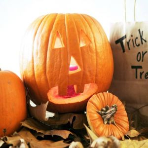 10/19 Pumpkin Carving - Johnston Branch Library