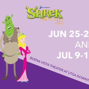 06/25 -06/28 and 07/09 - 07/12 Shrek Jr. - The Public Theater of San Antonio