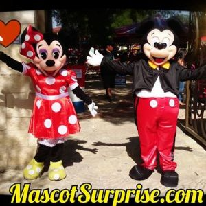 Mascot Surprise Event Characters in San Antonio