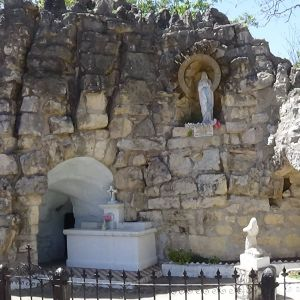 Lourdes Grotto - University of the Incarnate Word